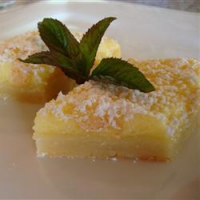 Rich Lemon Bars