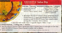 Velveeta Salsa Dip