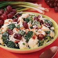 Broccoli Cauliflower Salad