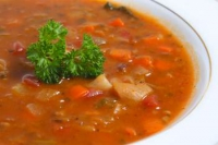 Lentil And Brown Rice Soup