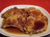 Orange Pork Chops