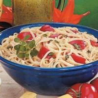 Tomato And Basil Linguine