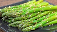 Chilled Asparagus With Sesame Vinaigrette