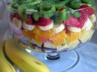 Layered Orange Salad