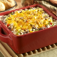 Wild Rice And Sausage Casserole