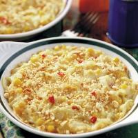 Confetti Scalloped Potatoes