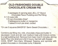 Old Fashioned Cream Pie