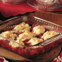 Quick Cherry Cobbler