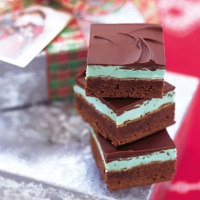 Chocolate Mint Bars