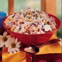 Ham And Cheese Potato Salad
