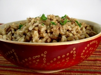 Lentils And Rice Casserole