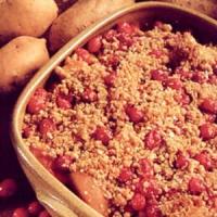 Apple Mallow Yam Bake