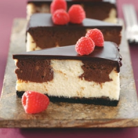 Chocolate Raspberry Cheesecake
