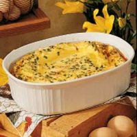 Egg And Bacon Casserole