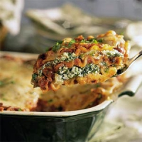 Spinach Lasagna