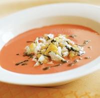 Tomato Soup Salad