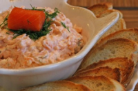 Smoked Salmon Cracker Spread