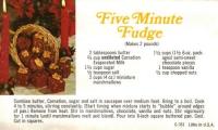 Five Minute Fudge