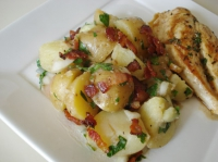 French Potato Salad With Bacon