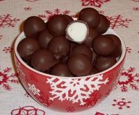 Peppermint Chocolate Bonbons