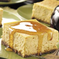 Rich Pumpkin Cheesecake