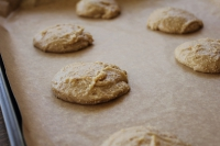 Unbaked cookies