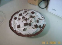 Hershey Bar Pie