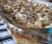 Sausage-Mushroom Breakfast Casserole