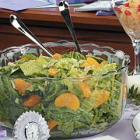 Spinach Mandarin Orange Salad