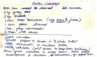 Chicken Rotel