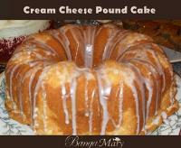 Crusty Cream Cheese Pound Cake
