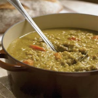 Split Pea And Barley Soup