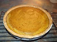 Smooth Pumpkin Pie