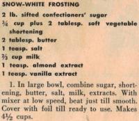 White Frosting