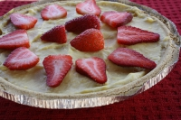 Strawberry Banana Cream Pie