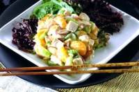 Crunchy Hot Chicken Salad