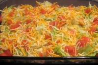 Mexican 5 layer dip recipe. How to make Mexican 5 layer dip. Recipe ...