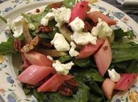 Rhubarb Salad
