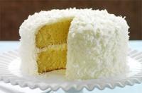 Yellow Angel Cake