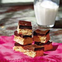 Chocolate Peanut Buddy Bars