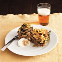 Sausage And Kale Mock Lasagna Casserole Recipes — Dishmaps