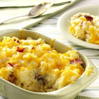 Mashed Potato Bake