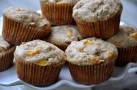 Peach Pecan Muffins