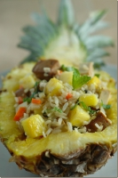 Pineapple Pork Chops And Rice