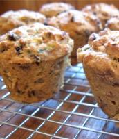 Zucchini Nut Muffins