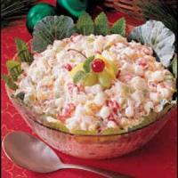 Christmas fruit salad