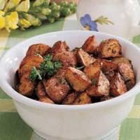 Herbed Oven Potatoes