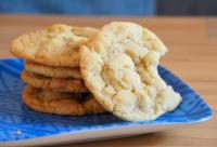 White Chocolate Chunk Macadamia Cookies