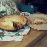 Impossible Lasagne Pie