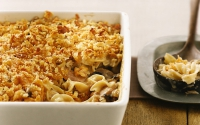 Tuna And Noodle Casserole